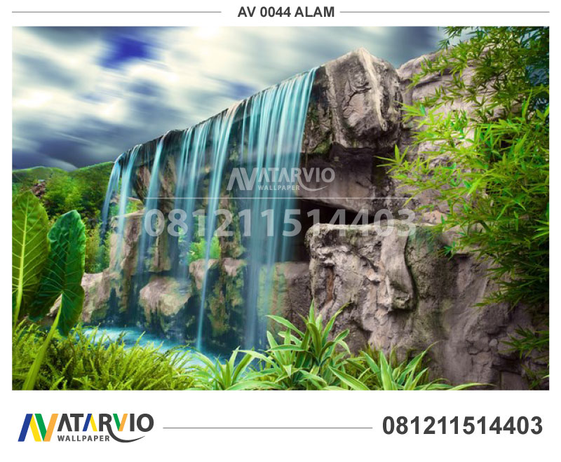 Butik Wallpaper Dinding 3d