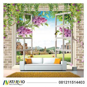 Percantik Ruangan Dengan Wallpaper Custom Murah